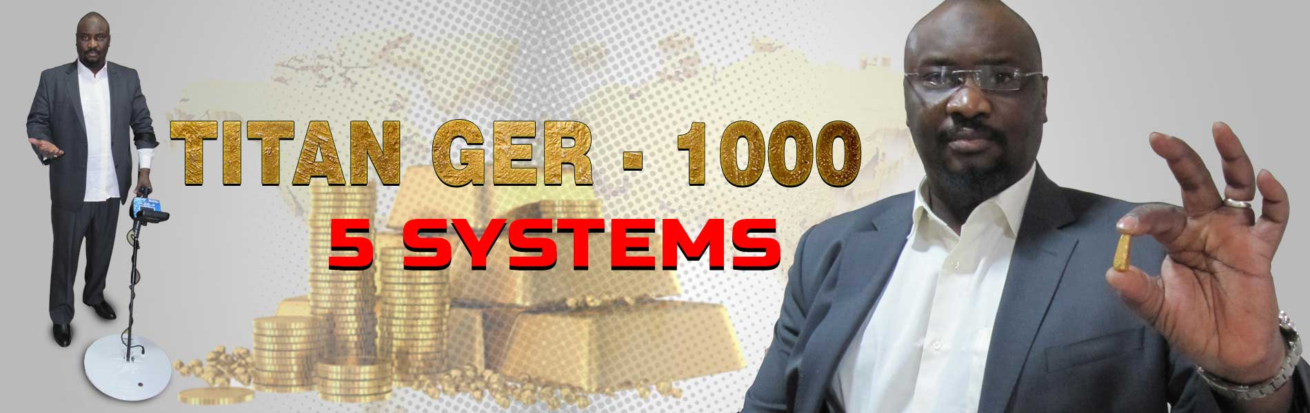 titan ger 1000 gold and metals detector
