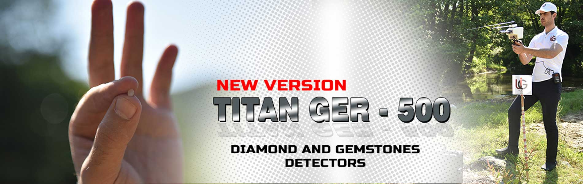 diamond and gemstones - titan ger - 500 plus device