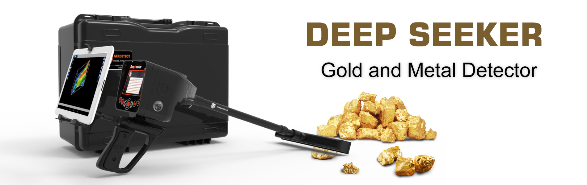 deep seeker device latest gold metal detector