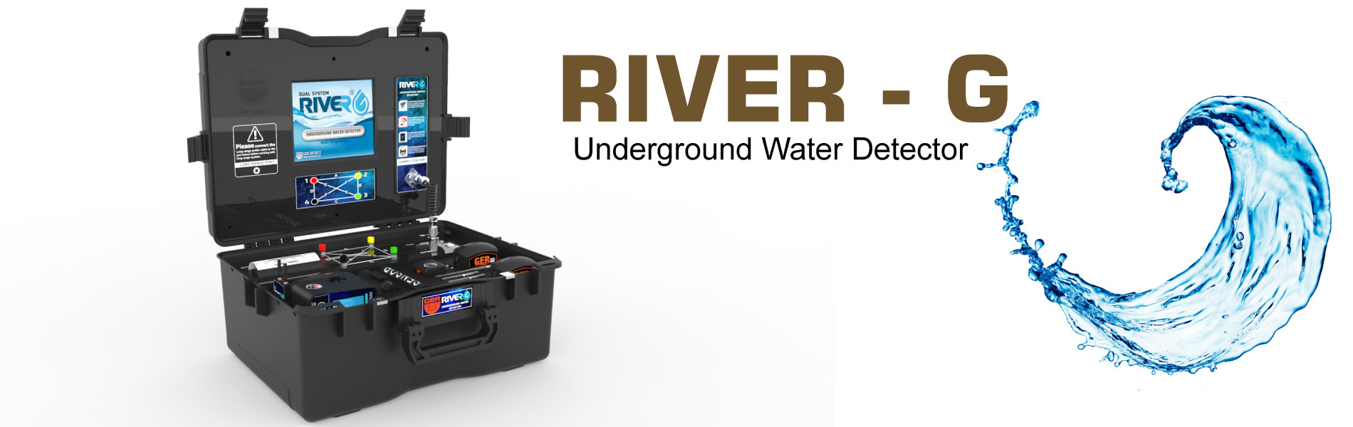 River G water detector device