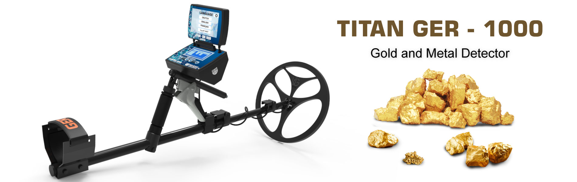 titan ger 1000 best detector for metal and gold