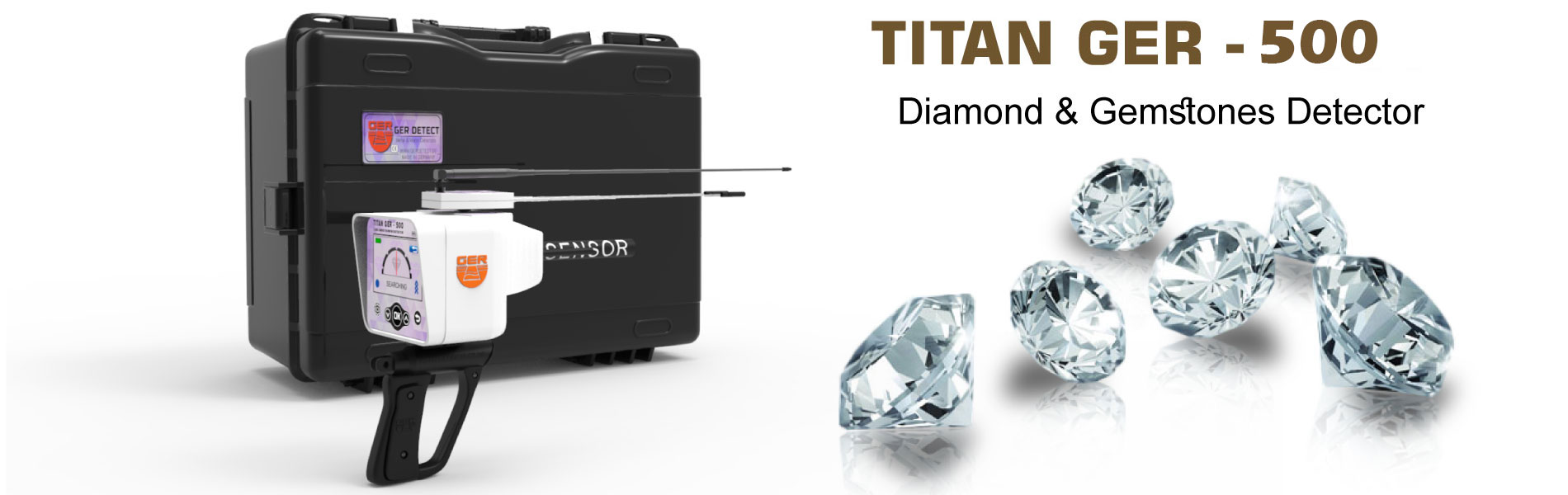 titan ger 500 device diamond gemstone locator